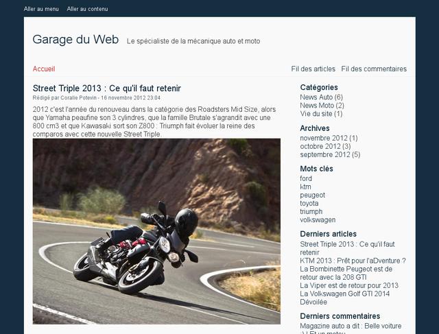 Ancien design legarageduweb.com
