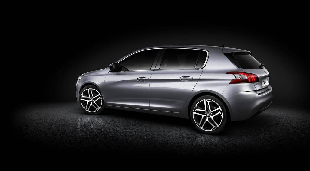 Peugeot 308 2014 Face Arrière