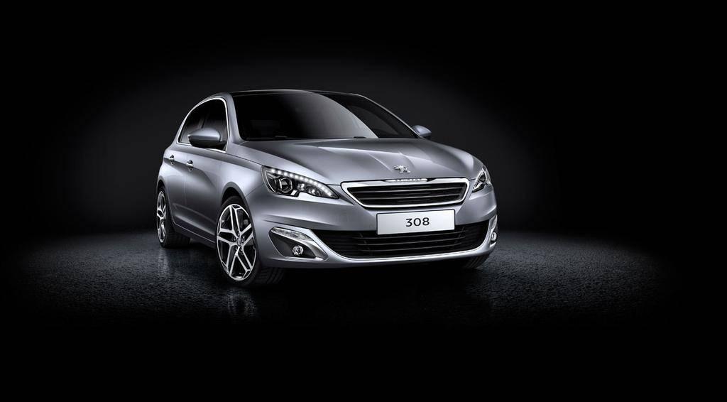 Peugeot 308 2014 Face Avant