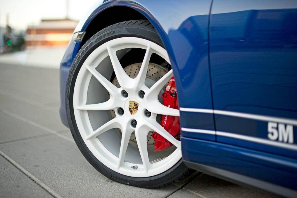 Porsche 5 Millions de Fans Jante