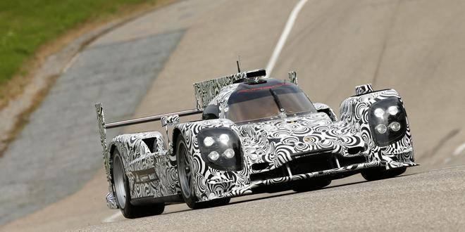 Une Porsche LMP1 pour les 24h du Mans