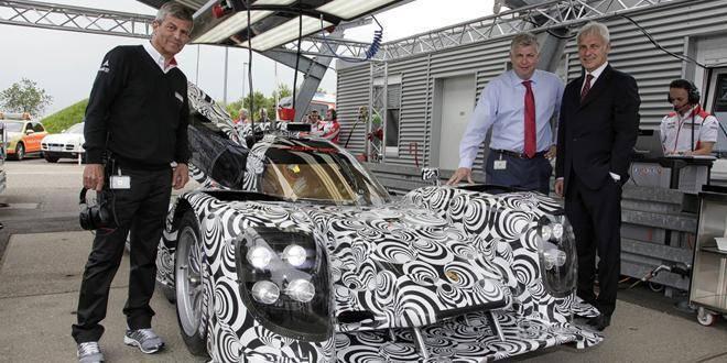 Une équipe Porsche motivée à 100%