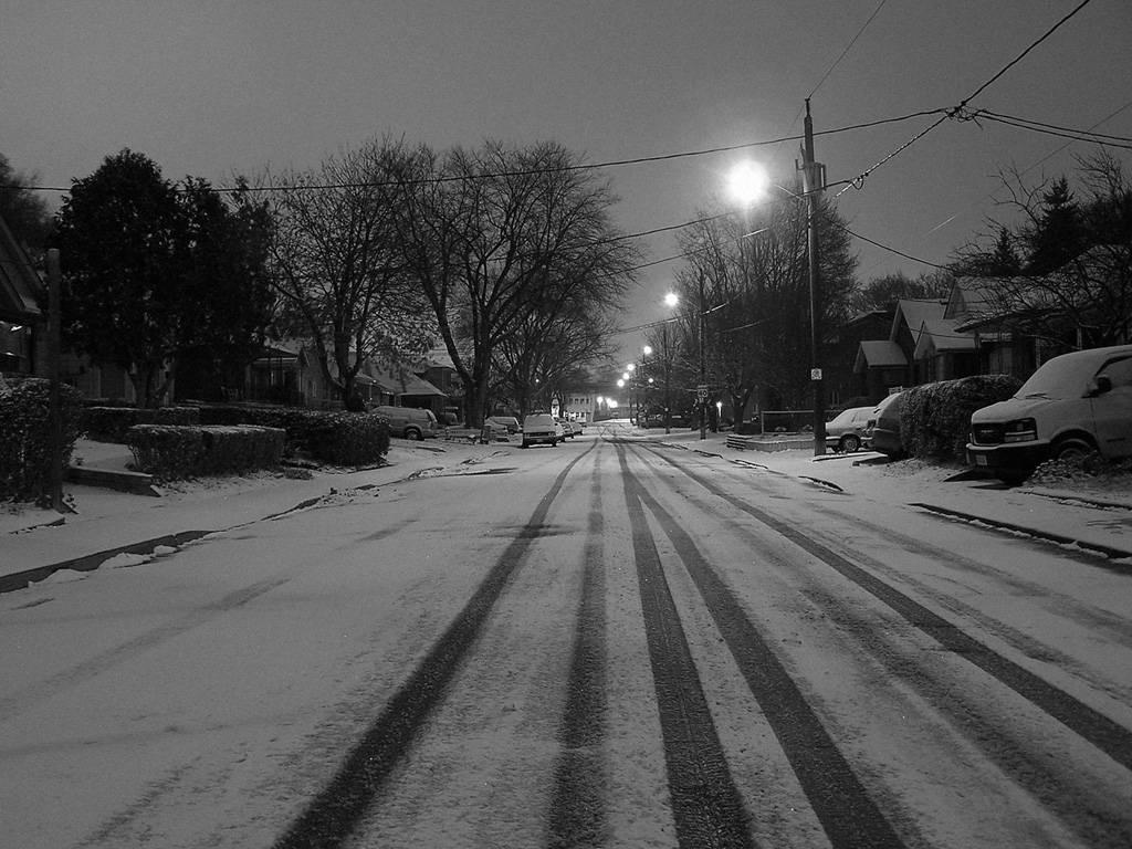 Usure des pneus hivers